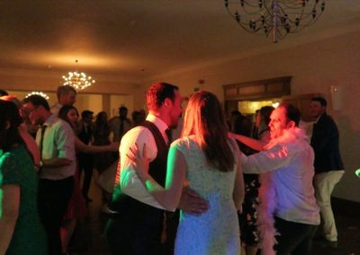 Singing on the Dance floor with Paul